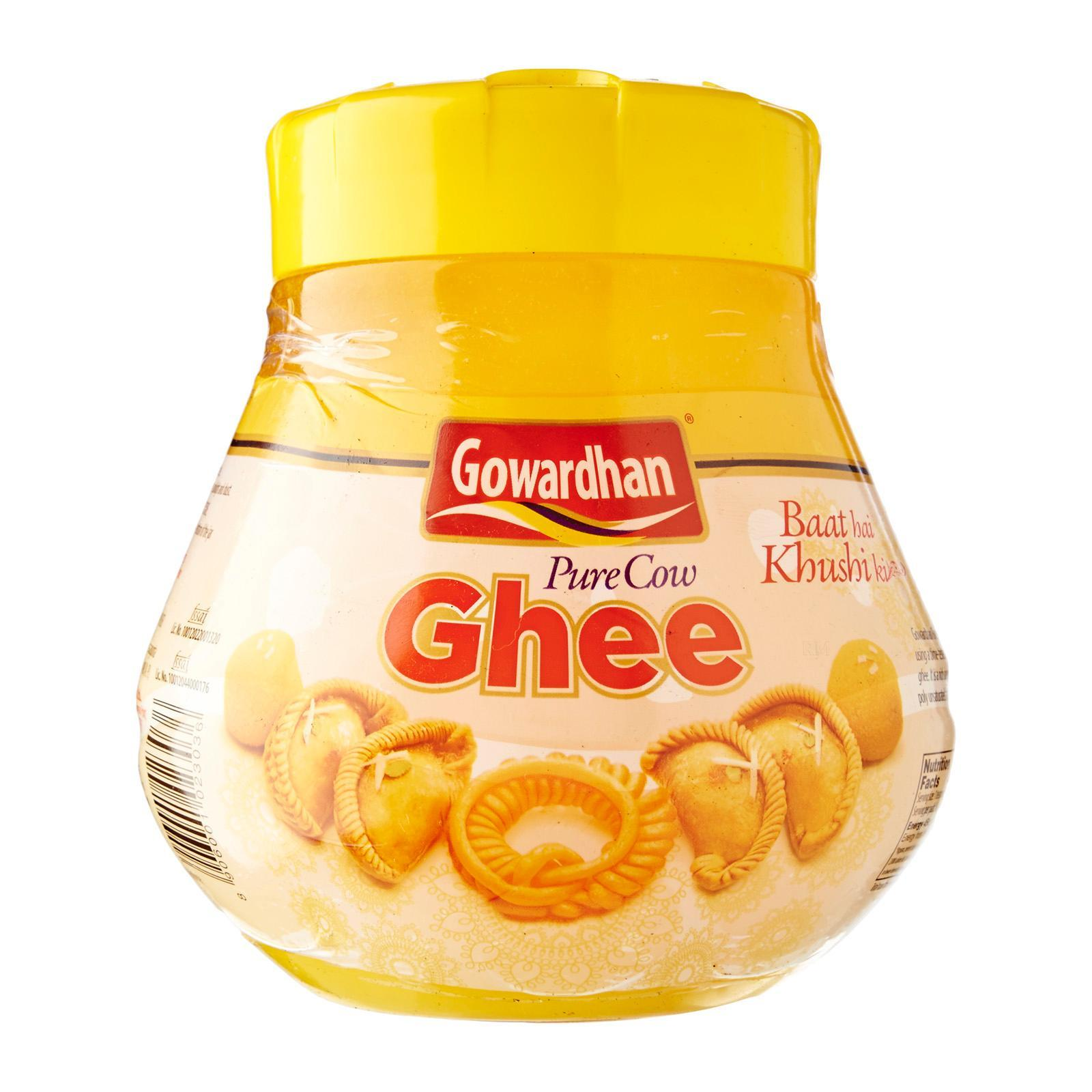 Gowardhan Ghee 1l, Traditional Home Made Ghee, Pure And Healthy, Indian Cuisine. By Merlion Mart.