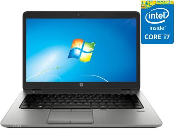 HP Elitebook 840 G2, intel core i7-5th GEN 8GB RAM, 256 GB SSD windows 10 pro MS office (Refurbished)