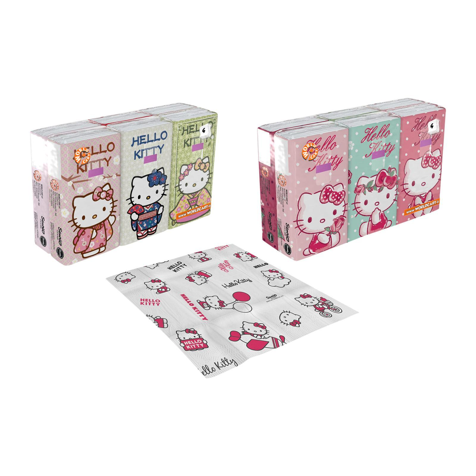 Sanrio Hello Kitty Printed Soft Tissue