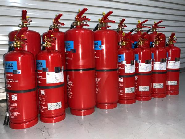 Recertified 9kg Dry Powder Fire Extinguisher (Setsco Approved)