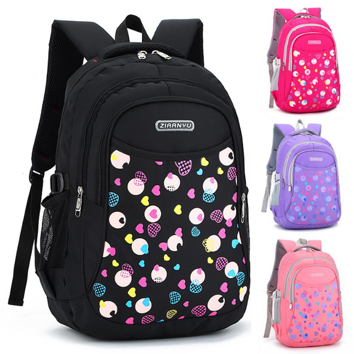 817412bc7a 4Colors Kids Boys Girls Large School Bags Backpack Shoulder Bookbags  Fashion Rucksack Black