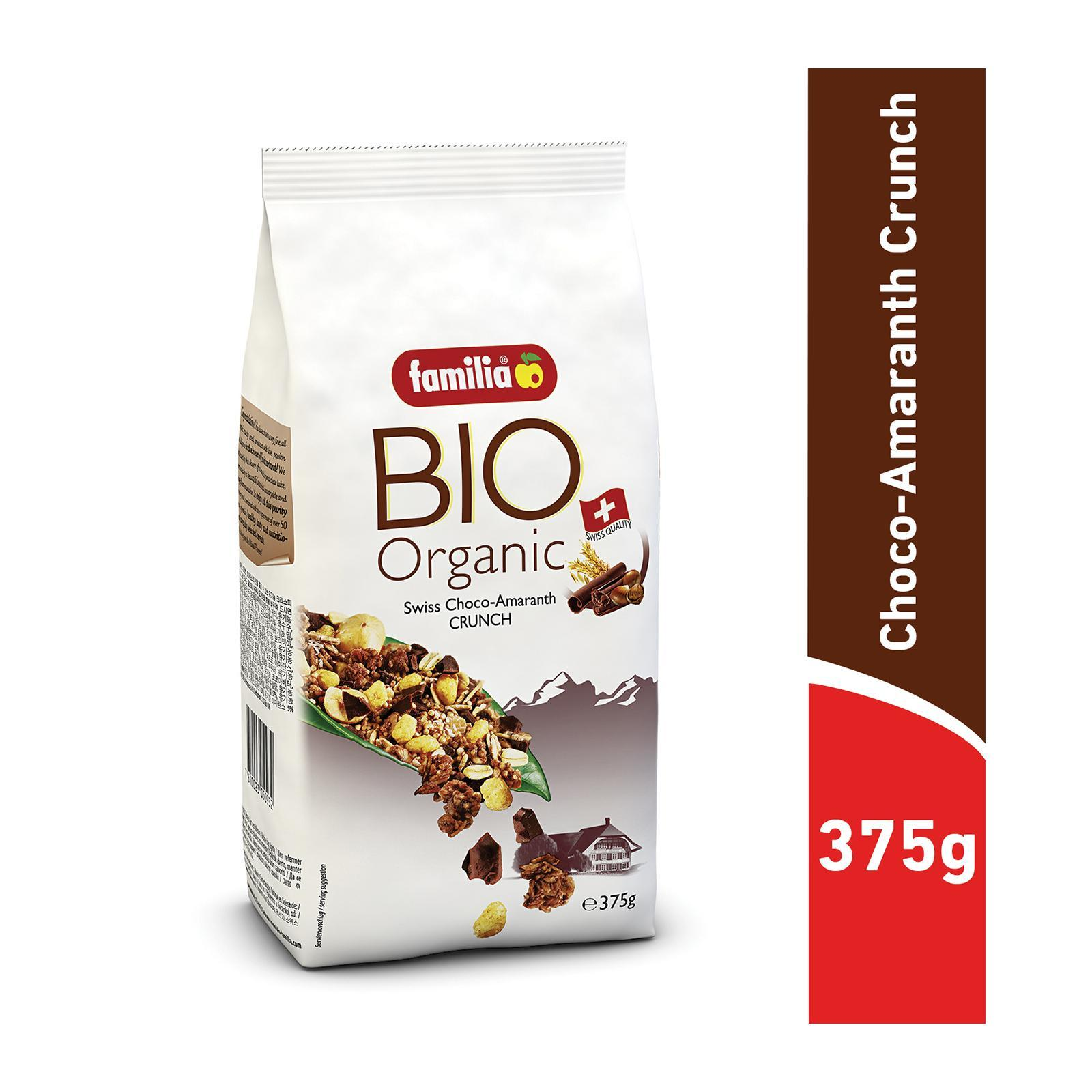 Familia Bio Organic Swiss Choco-Amaranth Crunch