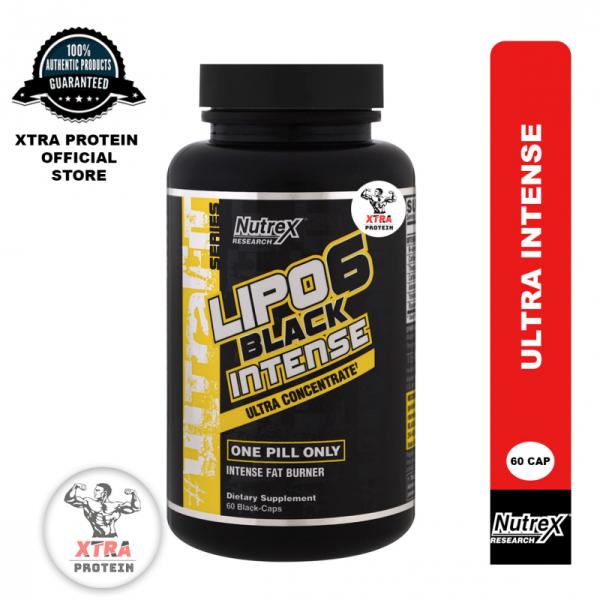 Buy Nutrex Lipo6 Black Intense Ultra Concentrate (60 Caps) Black Singapore