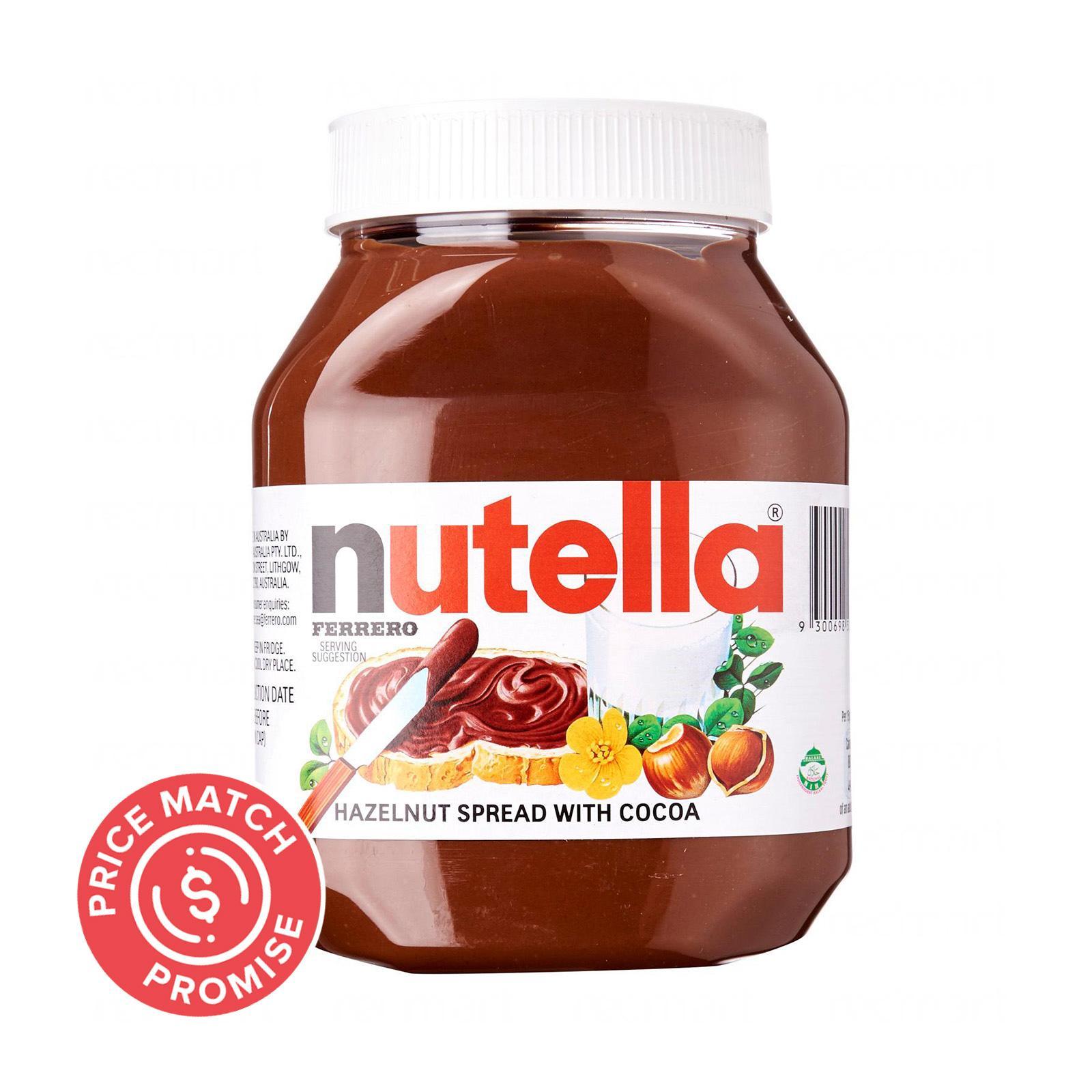 NUTELLA Hazelnut Spread 900g