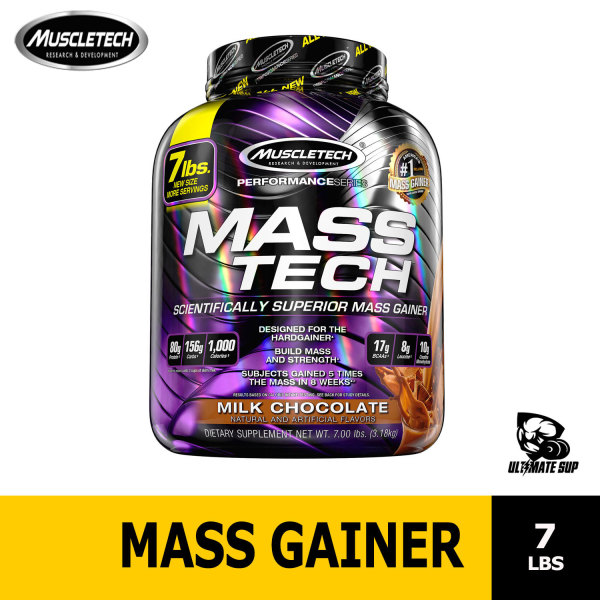 Buy Muscletech, MassTech, Scientifically Superior Mass Gainer Protein Powder, 7.00 lb Singapore