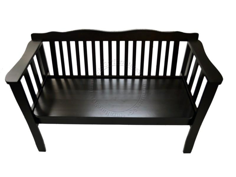 (FurnitureSG) Soild Wooden Bench with Storage