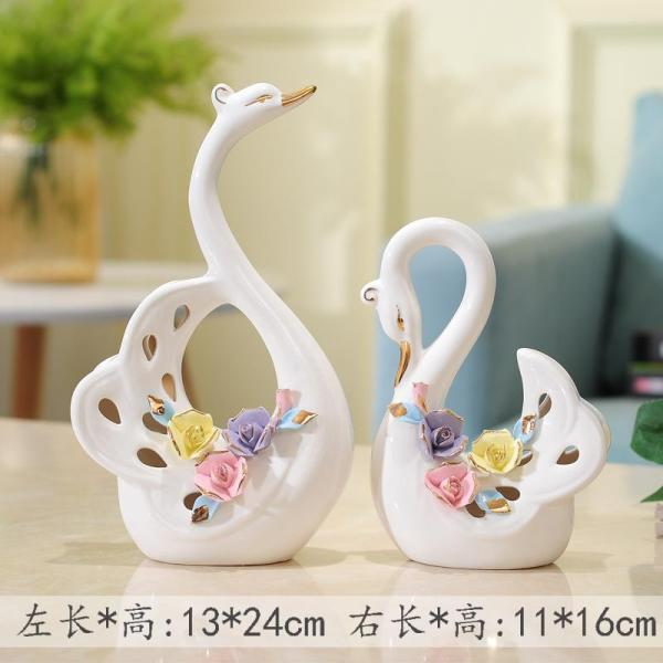 TV Cabinets Decoration SWAN Creative 58 Living Room Wine Cabinet Decorations Snnei Room Gift for Wedding Practical Gift