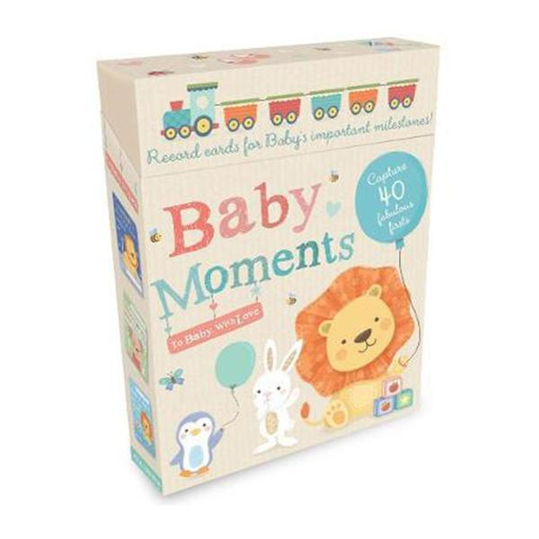 Baby Moments: Record Cards For Babys Important Milestones! (Cards)