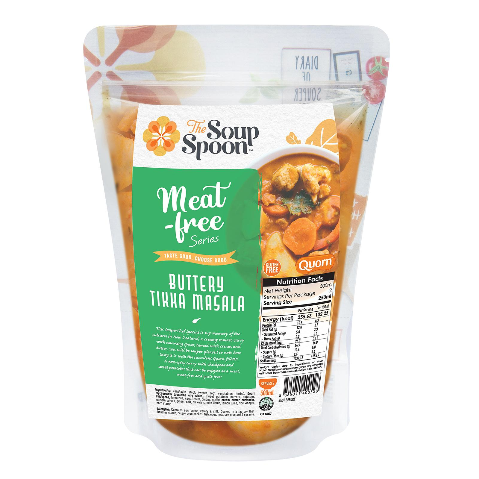 The Soup Spoon Buttery Tikka Masala Soup