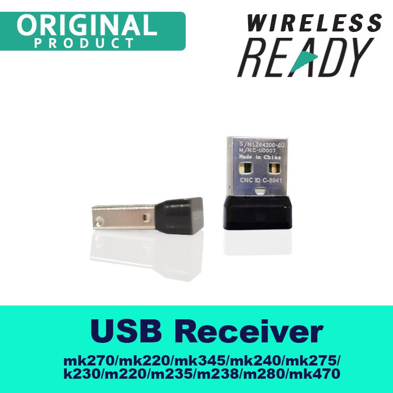 OEM USB Receiver for Logitech mk270/mk275/k230/mk235/k400/mk345/mk240/m245/m235/m238/m220/m280Mouse or Keyboard Connect Singapore