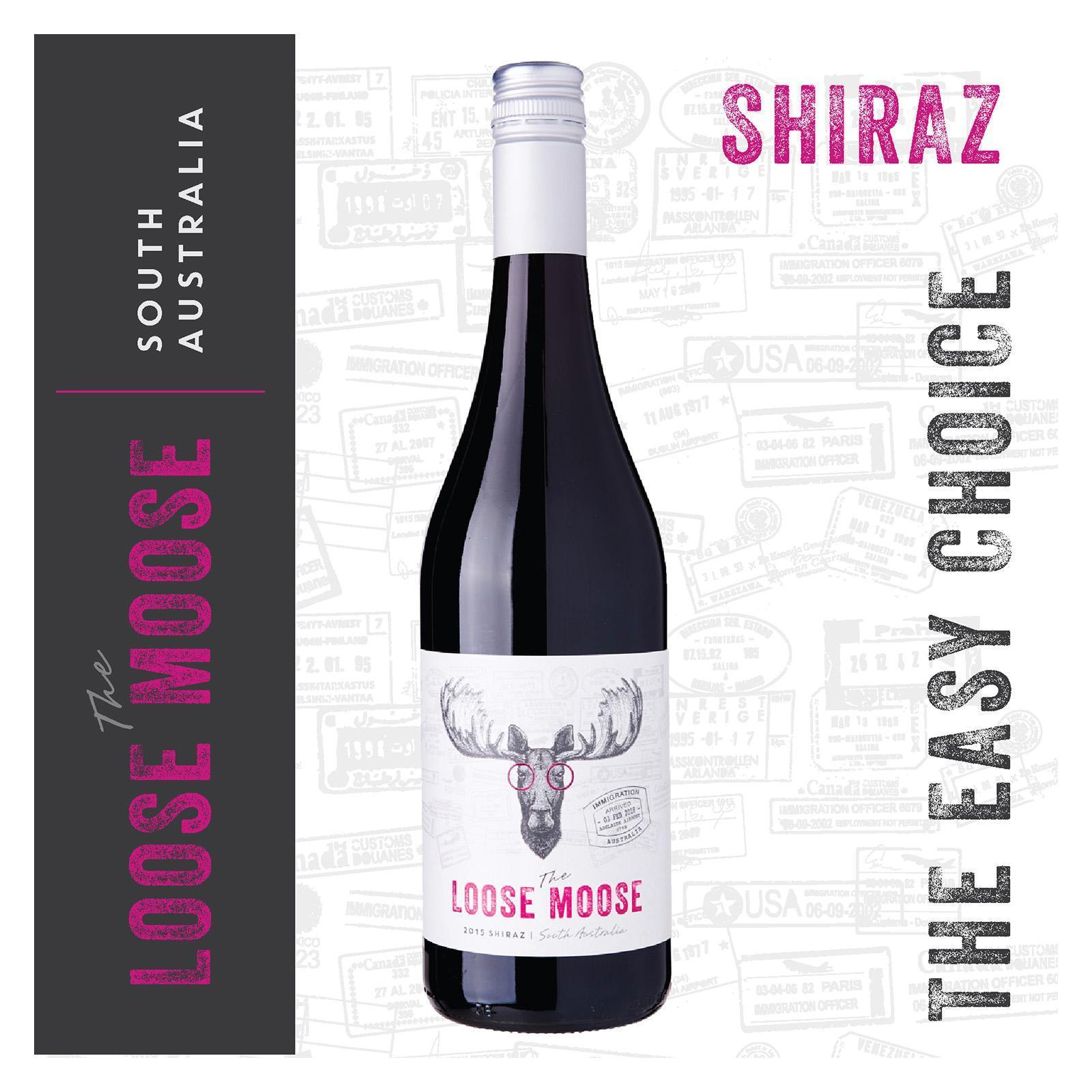 The Loose Moose South Australia Shiraz Red Wine