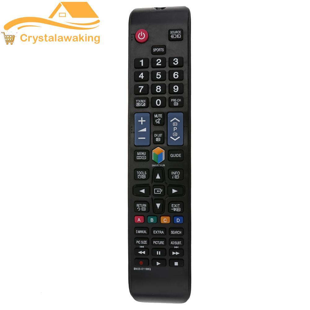 1pc Remote Control Replacement For Samsung Bn59-01198q Remote Control (black) - Intl.