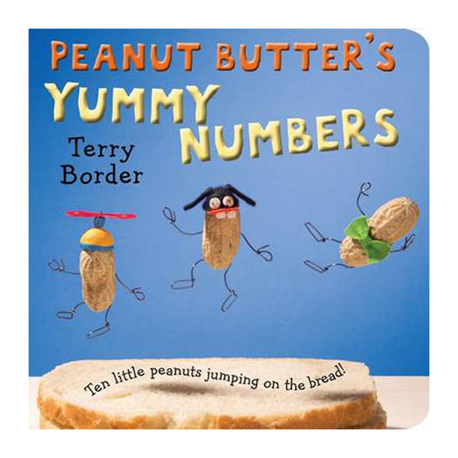 Peanut Butters Yummy Numbers (hardback) By Redmart.