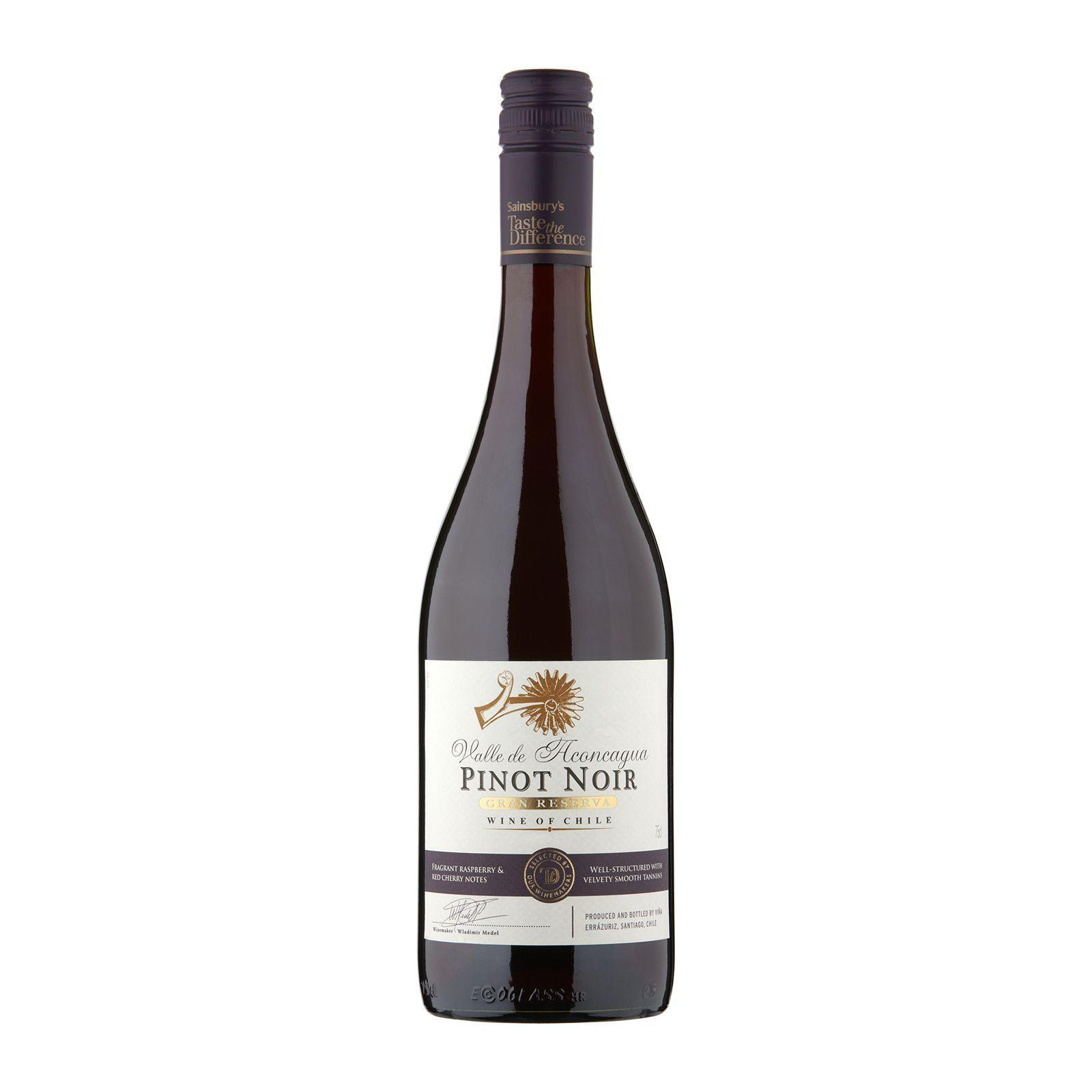 Sainsbury's Taste the Difference Chilean Pinot Noir Red Wine