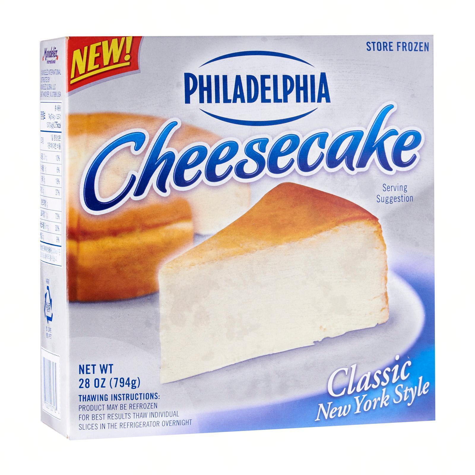 Philadelphia Cheesecake - Frozen