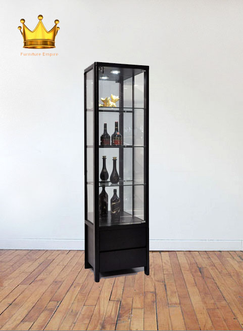 Cynthia Display Cabinet / Decoration Cabinet / Glass Cabinet/ Wine Cabinet/ Glass shelving /Racking