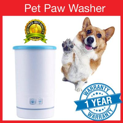 Smartpaw Pet Automatic Paw Washer - Medium Size By Smartpaw.