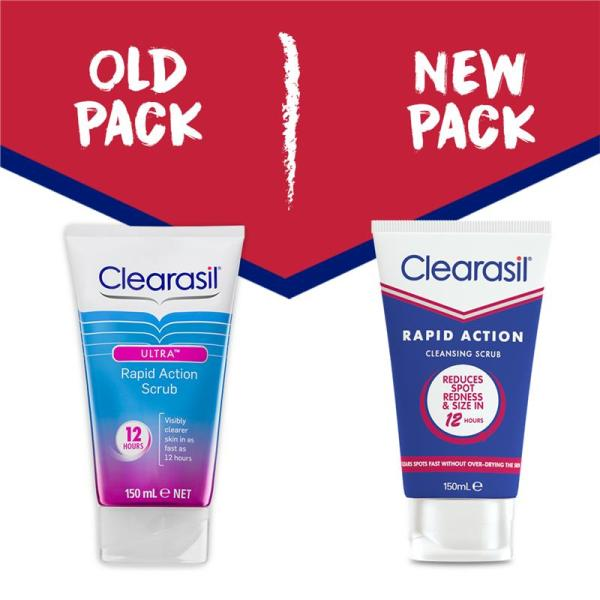 Buy Clearasil Rapid Action Cleansing Scrub 150mL July 2022 Singapore
