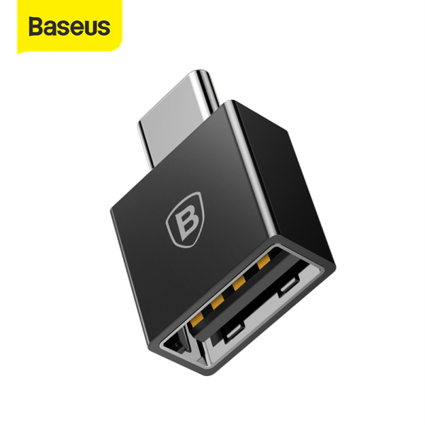Baseus Type- C Male to USB Female Cable Adapter Converter For USB C to USB ( Male to Female ) Charger Plug OTG Adapter Converter
