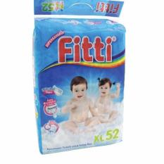 Best Rated Fitti Basic Jumbo Baby Diapers Pack Xl52 X 3 Packs