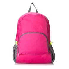 Price Comparisons For Foldable Backpack In 4 Colors Blue Pink Green Grey Pink
