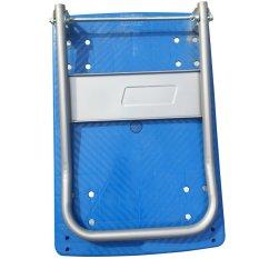 Foldable Plastic Trolley 150Kg Blue Price Comparison