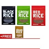 Purchase Forbidden Foods Gourmet Pack 500G X 3 Free 1 X 500G Brown Rice Online