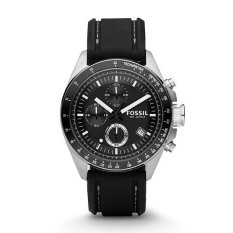 Buy Fossil Decker Chronograph Black Silicone Watch Ch2573 Cheap Singapore
