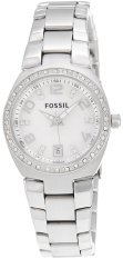 Fossil Serena Women S Silver Tone Stainless Steel Watch Am4141 Online