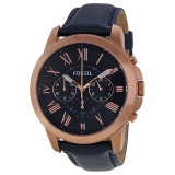 Discount Fossil Fs4835 Grant Leather Mes S Watch Fossil On Singapore