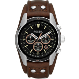 Deals For Fossil Men S Coachman Chronograph Brown Leather Watch Ch2891