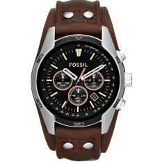 Where Can I Buy Fossil Men S Coachman Chronograph Brown Leather Watch Ch2891