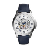 Buy Fossil Men S Grant Silver Skeleton Dial Automatic Me3111 On Singapore