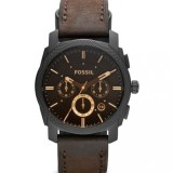 Compare Price Fossil Mens Machine Chronograph Leather Watch Fs4656 Fossil On Singapore