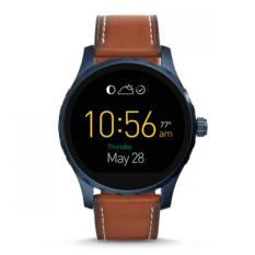 Promo Fossil Q Marshal Touchscreen Brown Leather Smartwatch Ftw2106P