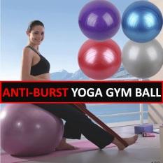 Discount 55Cm Ocean Blue Yoga Ball Exercise Ball Yoga Mat Pilates Sports And Fitness Stability Ball Balancing Ball