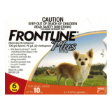 Retail Price Frontline Plus For Dogs Below 10Kg 6 Pippetes