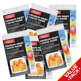 Compare Prices For Fullmark Premium Inkjet Coated Paper Photo Paper Ultra Value Set A4 Size 21Cm X 29 7Cm Each 6 Packs 50 Sheets Per Pack Compatible With Hp Canon Epson And All Leading Inkjet Printers