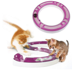 Price Comparison For Fun Cat Pet Dog Baby Track And Ball Toys Chase Game Hagen Catit Design Senses Play Circuit Intl