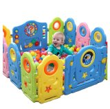 Galaxy Rocket Safety Play Yard Playpen 12S 1T 1D G*Rl Coupon