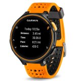 Best Deal Garmin Forerunner 235 Amber Black With Additional Free Strap