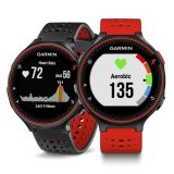 Price Garmin Forerunner 235 Gps Running Watch With Wrist Based Heart Rate Lava Red Black Garmin Original