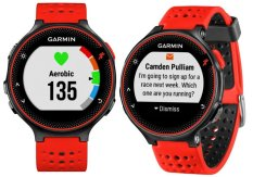 Buy Garmin Forerunner 235 Red Black With Free Additional Strap Singapore