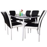 Compare Gieselle 6 Chair Dining Set 6 Chair 1 Dining Table Fully Assembled