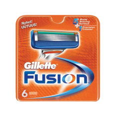 Gillette Fusion Razor Cartridges 6s By Watsons.