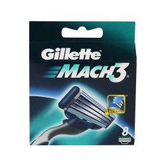 Gillette Mach3 Razor Cartridges 8s By Watsons.