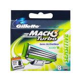 Gillette Mach3 Turbo Sensitive Razor Catridges 8 S On Line
