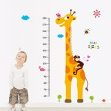 Where Can I Buy Giraffe Monkey Height Measurement Wall Decal Home Sticker House Decoration Wallpaper Removable Living Dinning Room Bedroom Kitchen Art Picture Murals Diy Stick Girls Boys Kids Nursery Baby Playroom Decoration Export
