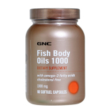 List Price Gnc Fish Body Oils 1000 90 S Gnc