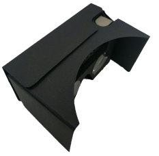 Google Cardboard 2.0 Virtual Reality Headset With Detachable Elastic Headband (black) By Momo Accessories.